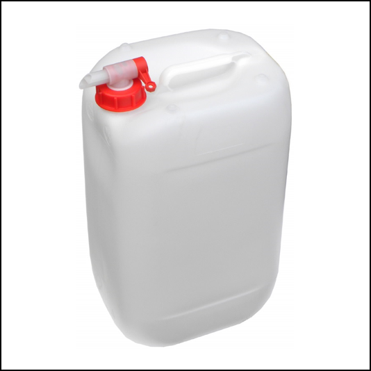 10L Plastic Water Container with Slowflow Tap