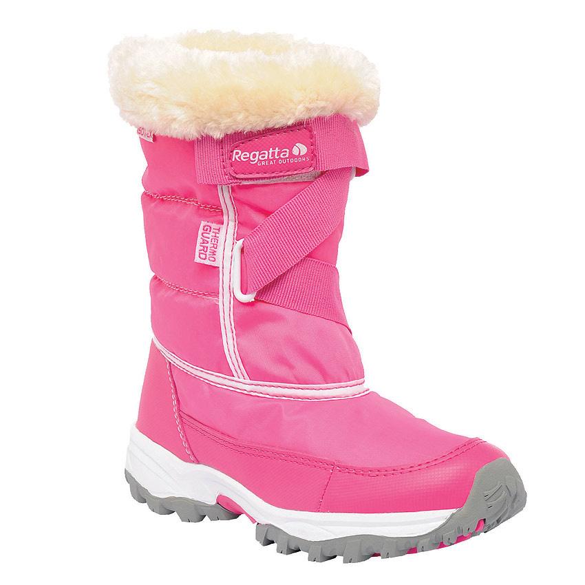 Regatta Snowcadet II Junior Boot Pink