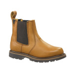 Buckler Buckflex Sundance Tan Oil Leather Dealer Boot