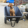 Haemmerlin 300L Colossus Poly Wheelbarrow 3