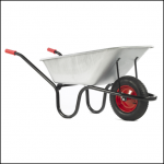 Haemmerlin County 120L Galvanised Wheelbarrow 1