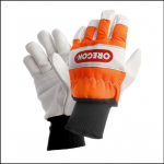 Oregon 91305 Left Hand Protection Chainsaw Gloves 1