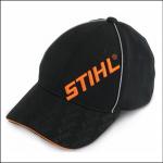 Stihl Black Baseball Cap