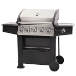 Lifestyle Dominica 5+1 Burner Gas BBQ 1