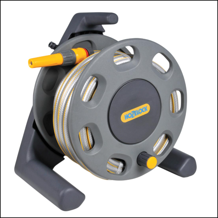 Hozelock 2412 Free Standing Hose Reel with 25m Hose 1