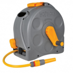 Hozelock 2415 2 in 1 Compact Reel with 25m Hose 1