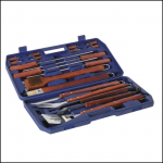 Lifestyle 18 Piece BBQ Tools Set with Case 1