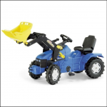 Rolly New Holland Pedal Tractor & Front Loader