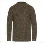 Barbour New Tyne Crew Neck Sweater Derby Tweed 1