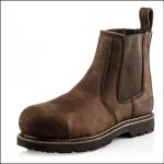 Buckler Buckbootz Chocolate Leather Safety Dealer Boot 1