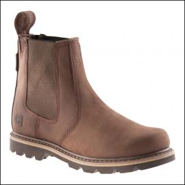Buckler Buckflex Chocolate Leather Dealer Boot 1
