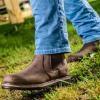 Buckler Buckflex Chocolate Leather Dealer Boot 3
