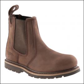 Buckler Buckflex Chocolate Leather Safety Dealer Boot 1