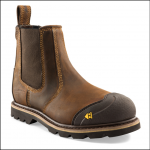 Buckler Buckflex Dark Brown Safety Dealer Boot 1