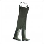 Dunlop Green PVC Chest Waders