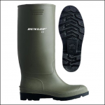 Dunlop Pricemaster Green PVC Wellington Boot 1