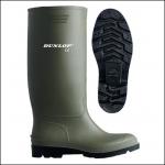 Dunlop Pricemaster Green PVC Wellington Boot 1