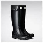 Hunter Norris Women's Field Wellington Boots Black 1