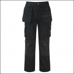 Castle Tuff Extreme Work Trousers Black Long