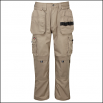 Castle Tuff Extreme Work Trousers Stone