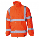 Dickies High Visibility Bomber Jacket Orange 1