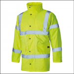 Dickies High Visibility Motorway Jacket Yellow