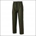 Dickies Raintite Waterproof Trousers Green 1