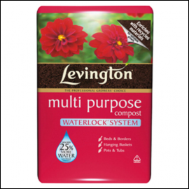 Levington Water-locking Multi-Purpose Compost 70L