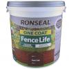 Ronseal One Coat Fence Life 5 Litre Dark Oak