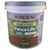 Ronseal One Coat Fence Life 5 Litre Forest Green
