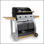 Sahara 3 Burner Oak BBQ Roaster 1