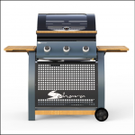 Sahara 3 Burner Oak Gas Barbecue
