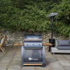 Sahara 3 Burner Oak Gas Barbecue 2021 2