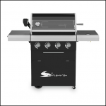 Sahara X450 4 Burner Cabinet Gas BBQ 1