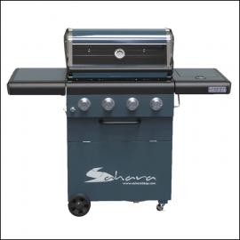 Sahara X450 4 Burner Cabinet Gas BBQ Smoky Teal 2021 1