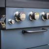 Sahara X450 4 Burner Cabinet Gas BBQ Smoky Teal 2021 6
