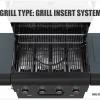 Sahara X450 4 Burner Cabinet Gas BBQ Smoky Teal 2021 4