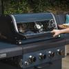 Sahara X450 4 Burner Cabinet Gas BBQ Smoky Teal 2021 2