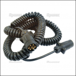 Sparex 7 Core Trailer Spirol Extension Lead – 3.5M