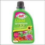 Doff Growmore 7-7-7 Liquid Concentrate 1L