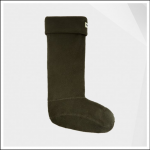 Hunter Field Dark Olive Fleece Tall Boot Socks 1