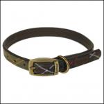 Barbour Classic Tartan Dog Collar 1