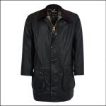 Barbour Men's Border Wax Jacket Sage Green 1