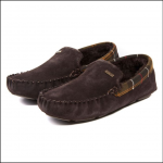 Barbour Monty Brown Slippers 1