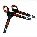 Stihl Genuine 110cm Black Button on Braces 1