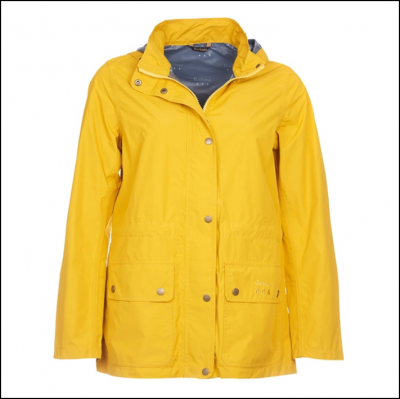 Barbour Cirruss Jacket Canary Yellow 1