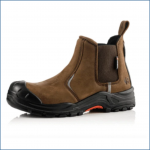 Buckler Nubuckz Brown Safety Dealer Boot 1