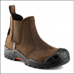 Buckshot Nubuckz Brown Safety Dealer Boot 1