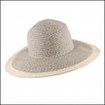 Joules Myla Natural Wide Brimmed Summer Hat 1