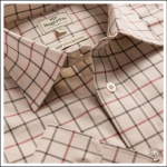 Hoggs of Fife Laird Premier Tattersall Shirt 1
